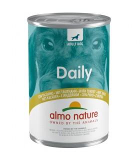 Almo nature daily menu cane con tacchino 400 gr