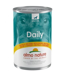 Almo nature daily menu cane con pollo 400 gr