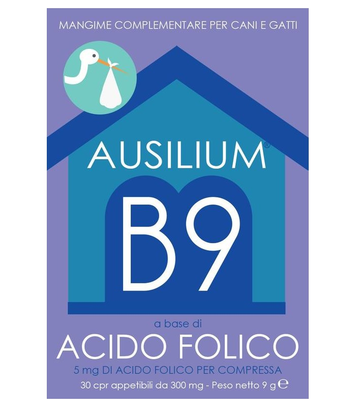 Deakos ausilium b9 acido folico 30 compresse 9 gr