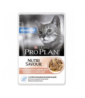 Purina proplan gatto housecat nutrisavour con salmone 85 gr