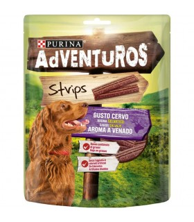 Purina adventuros strips gusto cervo 90 gr