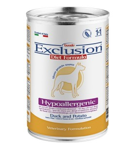 Exclusion diet formula hypoallergenic anatra e patate 400 gr