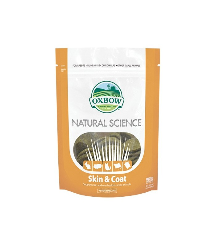 Oxbow natural science skin & coat 120 gr