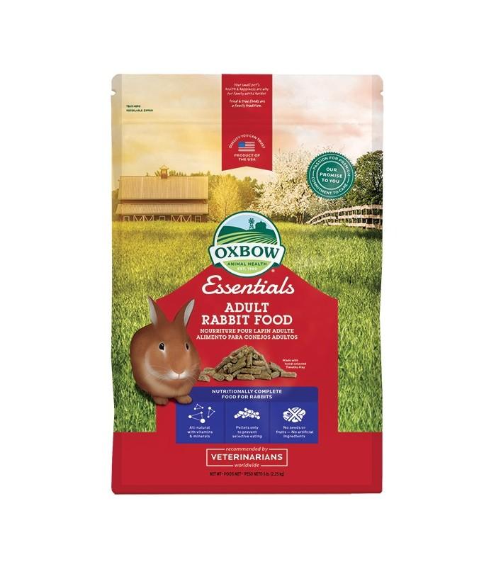 Oxbow essentials adult rabbit food 2.25 kg
