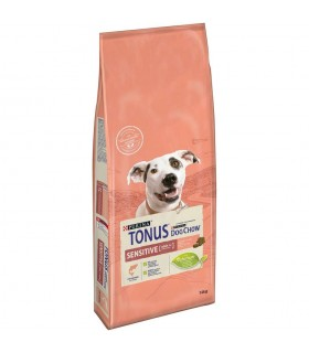 Purina Tonus dog chow adult cane sensitive salmone 14 kg