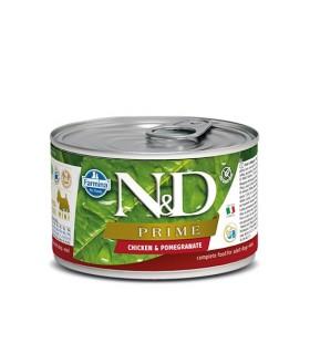 Farmina n&d prime adult mini pollo e melograno 140 gr