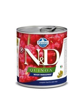 Farmina n&d quinoa adult weight management 285 gr