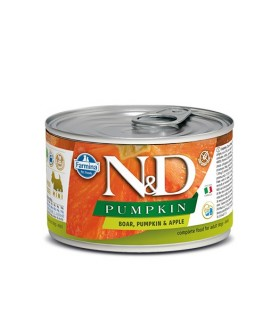 Farmina n&d pumpkin adult mini cinghiale zucca e mela 140 gr