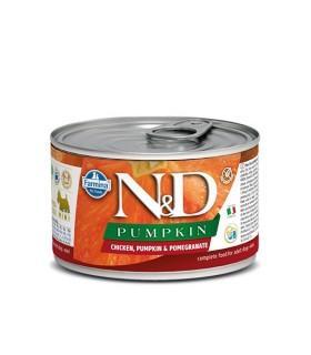Farmina n&d pumpkin adult mini pollo zucca e melograno 140 gr