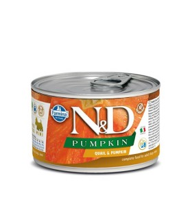 Farmina n&d pumpkin adult mini quaglia e zucca 140 gr