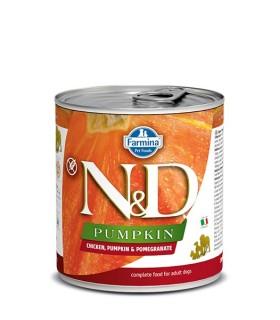 Farmina n&d pumpkin adult pollo zucca e melograno 285 gr