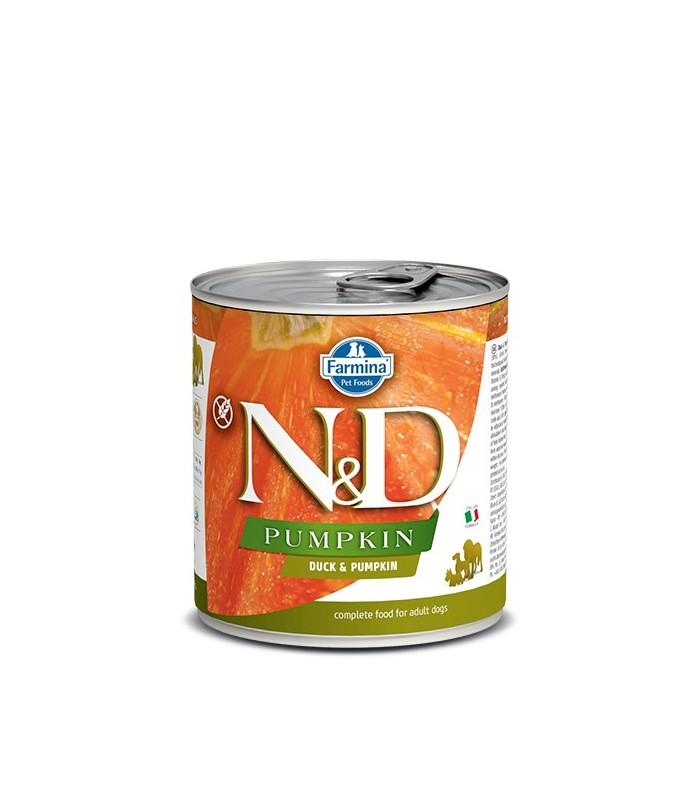 Farmina n&d pumpkin adult anatra e zucca 285 gr