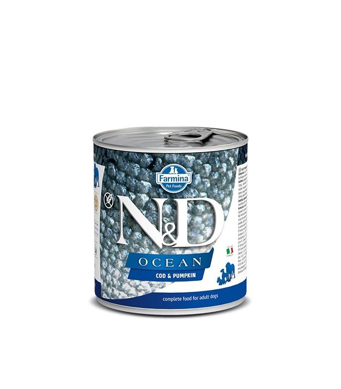 Farmina n&d ocean adult merluzzo e zucca 285 gr