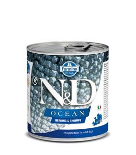 Farmina n&d ocean adult aringa e gambero 285 gr