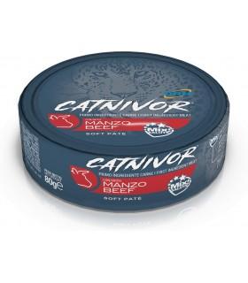 Drn catnivor manzo 80 gr
