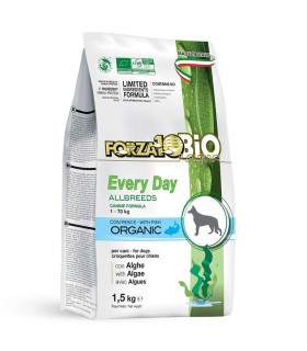 Forza 10 cane every day all breed bio al pesce con alghe 1,5 kg