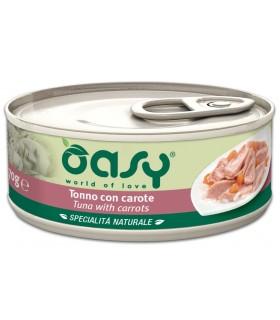 Oasy gatto tonno con carote umido 70 gr