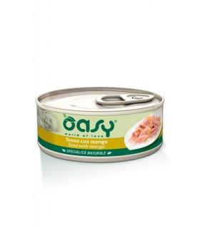 Oasy gatto tonno con mango umido 150 gr