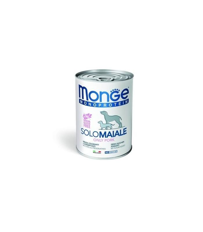Monge monoproteico patè solo maiale 400 gr