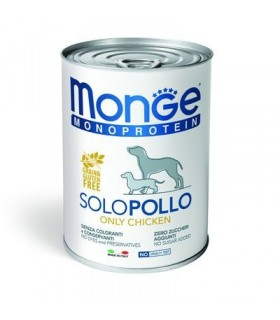 Monge monoproteico patè solo pollo 400 gr