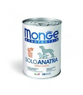 Monge monoproteico patè solo anatra 400 gr