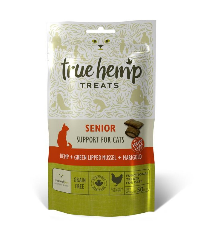 True hemp gatto senior 50 gr