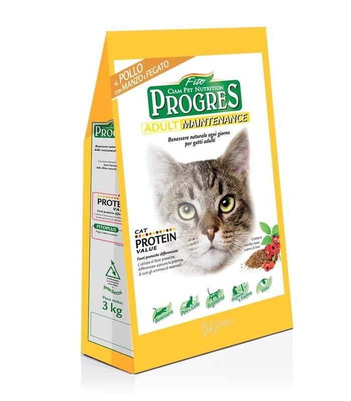 Fito progres gatto adult mantenimento manzo e fegato 10 kg