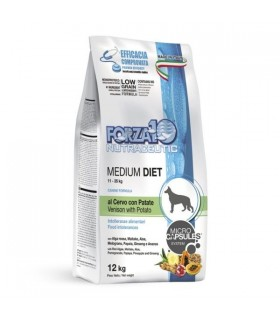 Forza 10 cane medium diet cervo con patate 12 kg