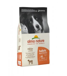 Almo nature holistic cane adult medium con agnello 12 kg