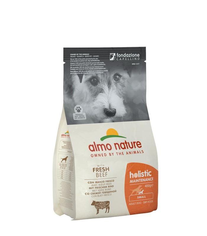 Almo nature holistic cane adult small con manzo 400 gr