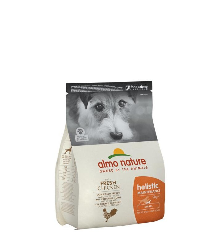 Almo nature holistic cane adult small con pollo 2 kg