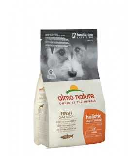 Almo nature holistic cane adult small con salmone 400 gr