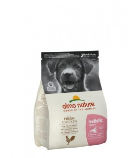 Almo nature holistic puppy medium con pollo e riso 2 kg