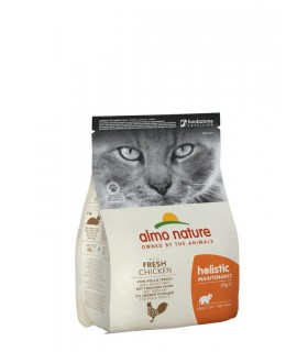 Almo nature holistic gatto adult con pollo fresco 2 kg