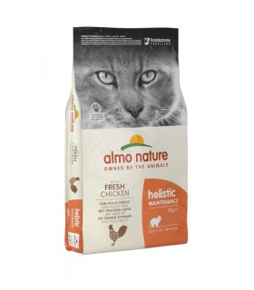 Almo nature holistic gatto adult con pollo fresco 12 kg