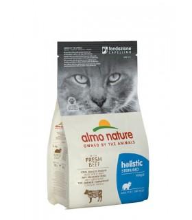 Almo nature holistic gatto adult sterilised con manzo fresco 400 gr