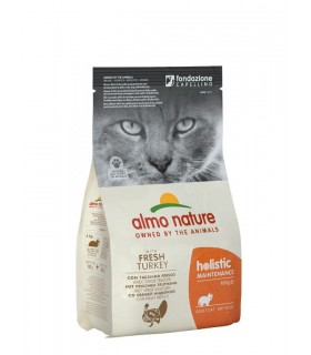 Almo nature holistic gatto adult con tacchino fresco 400 gr