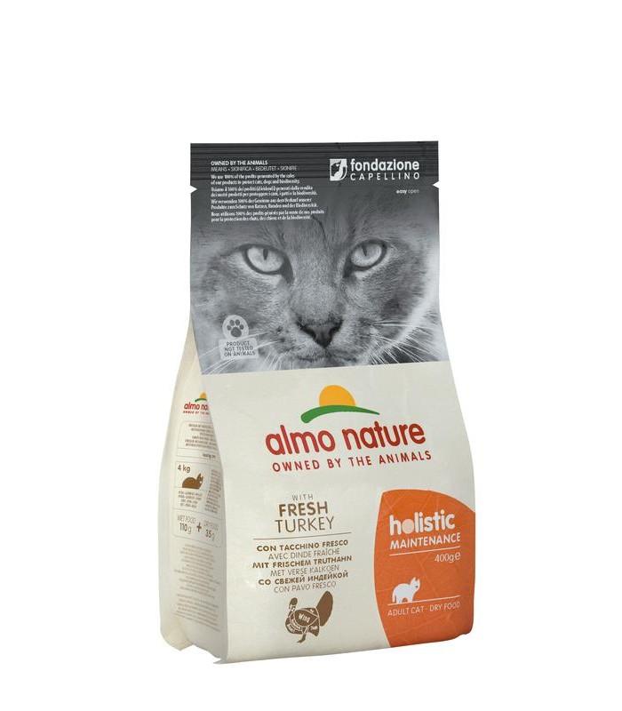 Almo nature holistic gatto adult con tacchino fresco 400 gr