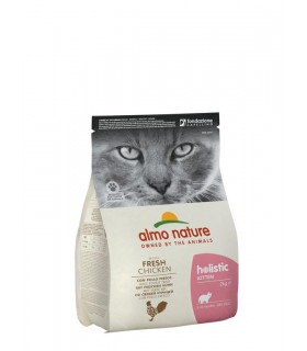 Almo nature holistic kitten con pollo fresco 2 kg
