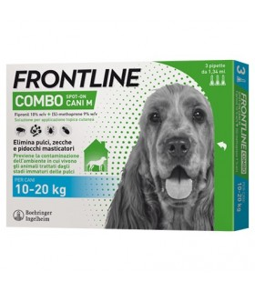 Frontline combo cani medi 3 pipette 1,34 ml 10-20 kg