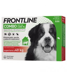 Frontline combo cani extra large 3 pipette 4,02 ml oltre 40 kg