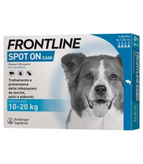 Frontline spot on cani medi 4 pipette 1,34 ml 10-20 kg