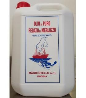 Olio di fegato di merluzzo 2,5 kg