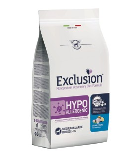 Exclusion diet formula hypoallergenic pesce e patate medium large 2 kg
