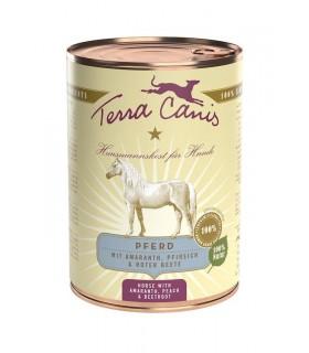Terra canis classic cavallo con amaranto, pesca e barbabietola 400 gr