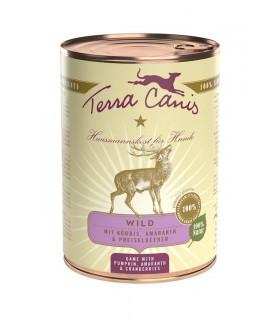 Terra canis classic selvaggina con zucca, amaranto e mirtilli rossi 400 gr