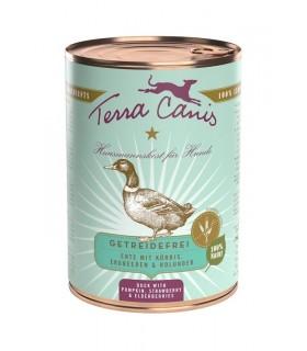 Terra canis grain free anatra con zucca, fragola e sambuco 400 gr