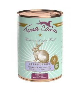 Terra canis grain free coniglio con zucchine, albicocca e borragine 400 gr