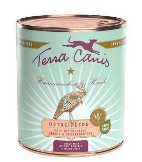 Terra canis grain free tacchino con sedano, zucca e crescione d'acqua 800 gr