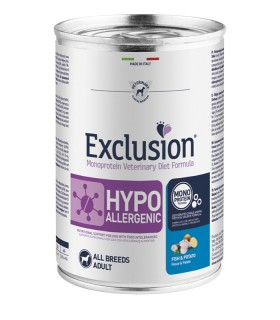 Exclusion diet formula hypoallergenic pesce e patate 400 gr